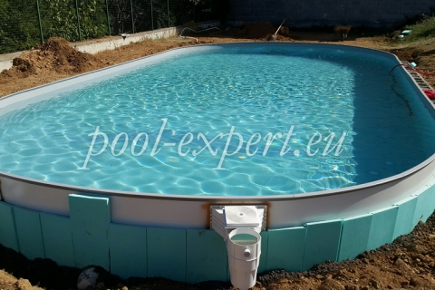 Prefabricated steel wall swimming pools - what to take into consideration when we choose a pool
