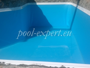 Swimming pool with liner 0,80 mm