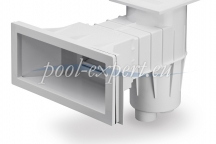Skimmer wide mouth for liner pools